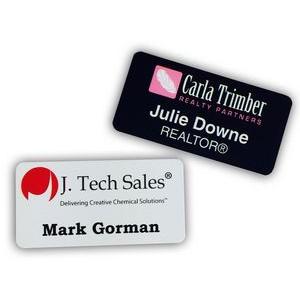 "1"" x 3"" Name Badge Digitally Printed"
